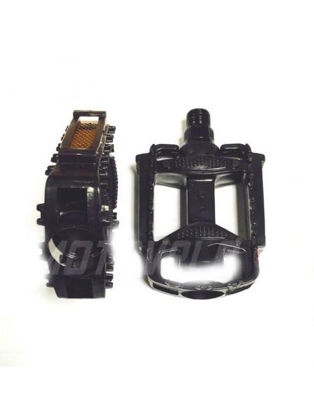 Педали велосипедные пластмассовые (детские),mod:JD-32 (#MD) цвет:черный