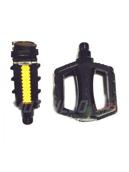 Педали велосипедные пластмассовые (детские),mod:JD-28 (#MD) цвет:черный