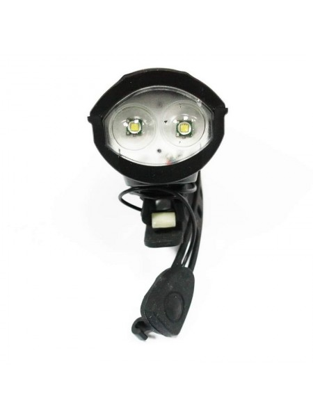 Фара велосипедная (передняя с сигналом, с креплением, зарядка под USB) (#MD), mod:Т6 (GA-79)