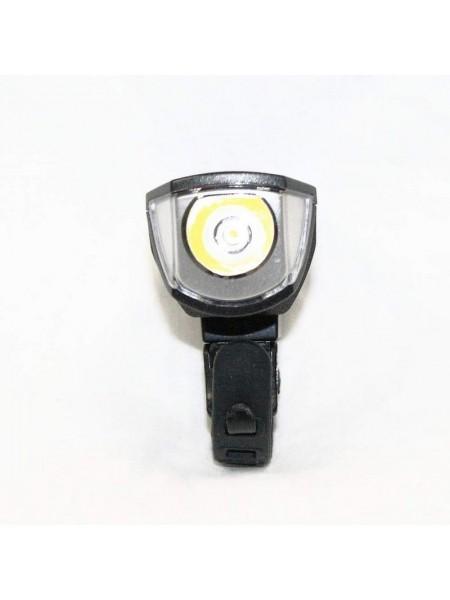 Фара велосипедная (передняя с индикатором, с креплением, зарядка под USB, ) (#MD), mod:3588 (GA-22)