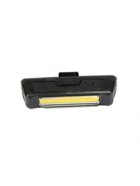 Мигалка задняя (зарядка под  USB, красный/белый) (#MD), mod:COMET 2261 (GA-56-1)