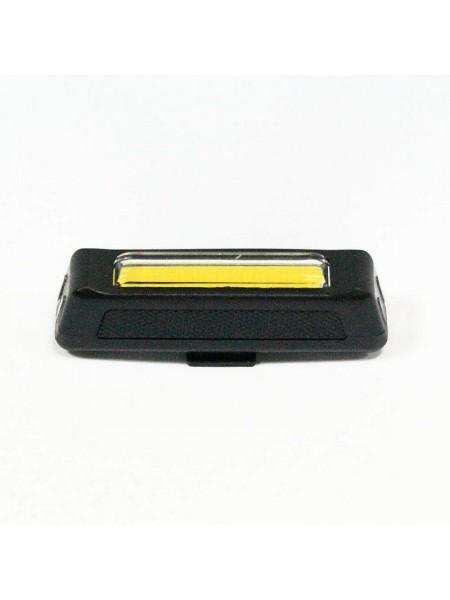 Мигалка задняя (зарядка под  USB, красный/белый) (#MD), mod:2028 (GA-37)