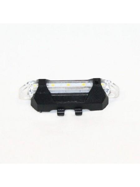 Мигалка задняя (зарядка под  USB, красный/синий) (#MD), mod:FQY-93 (GA-11)
