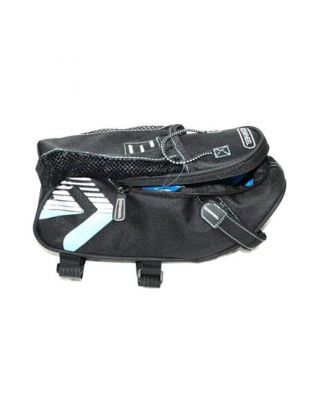 Велосипедная сумка под седло (для инструмента,чёрная) (#MD), mod:GA-60