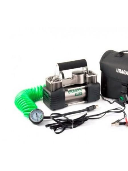 Компрессор URAGAN, 85 л/мин, 2-х поршневой, mod:90170