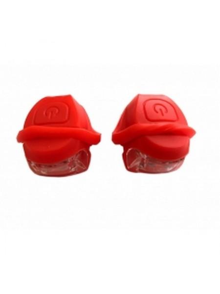 Мигалка силиконовая (фара-стоп),mod:JY-267-2BA (#КБ)