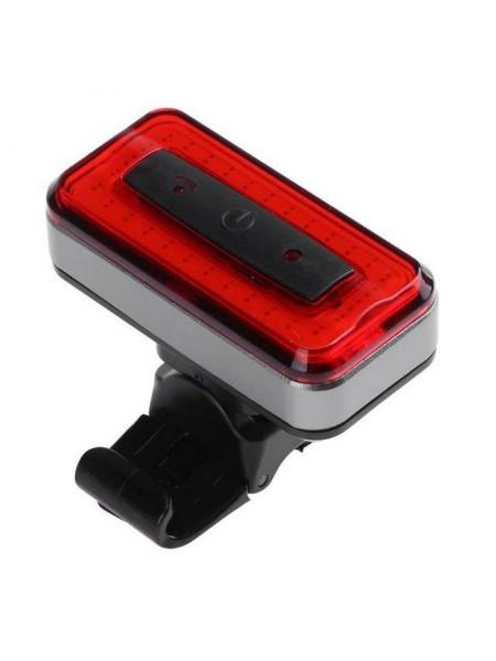 "Стоп задний велосипедный алюминиевый 120 Lumen (компл.зарядка  от USB Li-ion 3.7V),mod:RPL-2286 ""RAYPAL"""