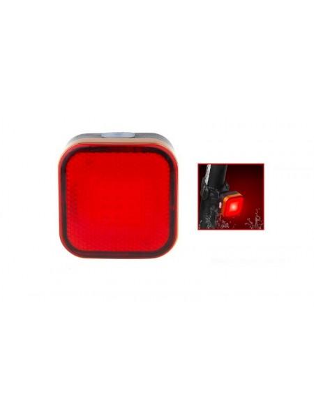 """Стоп задний велосипедный алюминиевый 120 Lumen (компл.зарядка  от USB),mod:RPL-2287 """"RAYPAL"""""""