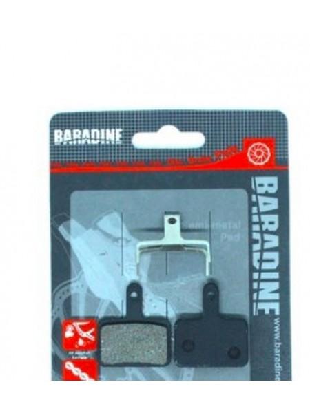 "Колодки под дисковый тормоз ""Baradine"" DS-11+SP-11 (Taiwan) (#КБ)"