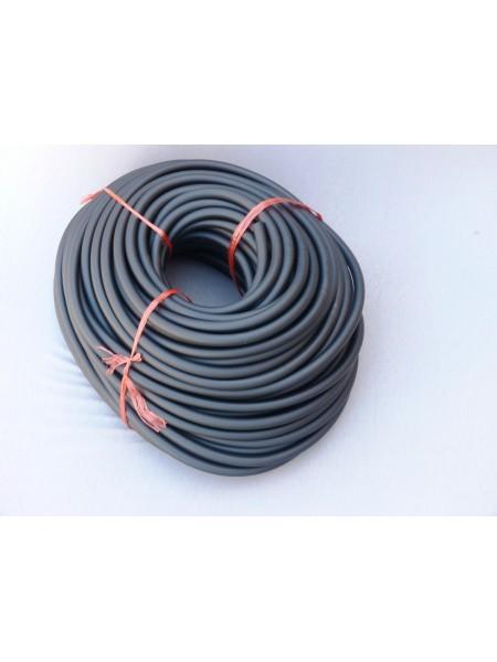 Бензошланг чёрный резиновый 6mm (1 метр)по 5м